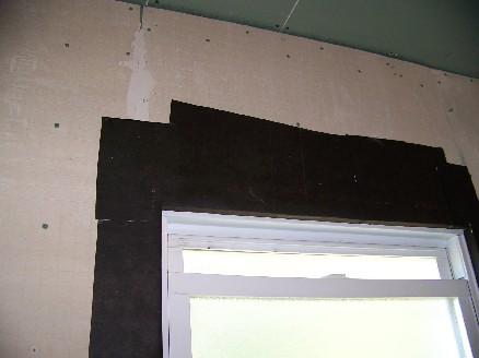 Waterproofing a window